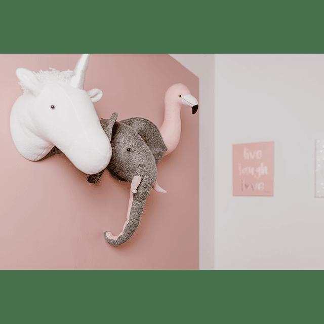 Cabeza de Peluche - Unicornio