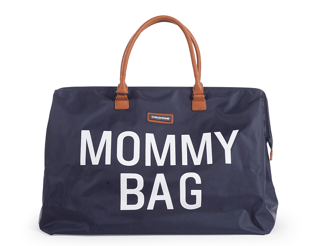 Mommy Bag - Azul Letras Blancas