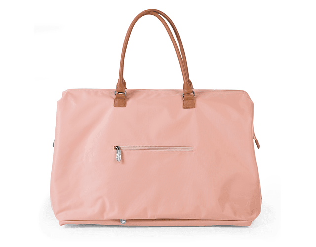 Mommy Bag - Rosa Letras Doradas