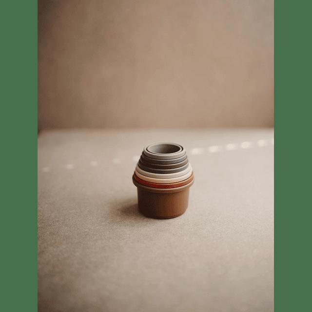 Tazas Apilables - Retro