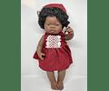 Muñeca Niña Africana 38 cm