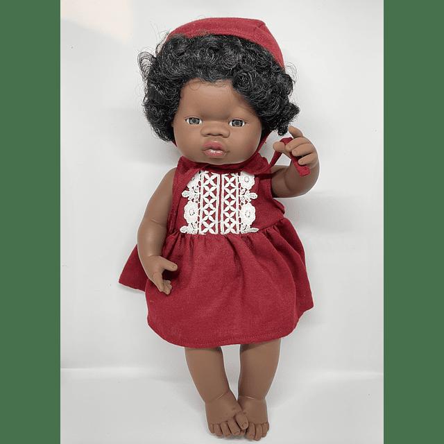 Muñeca Africana 38 cm
