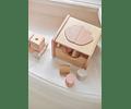 Clasificador de formas - Concha - Rosa