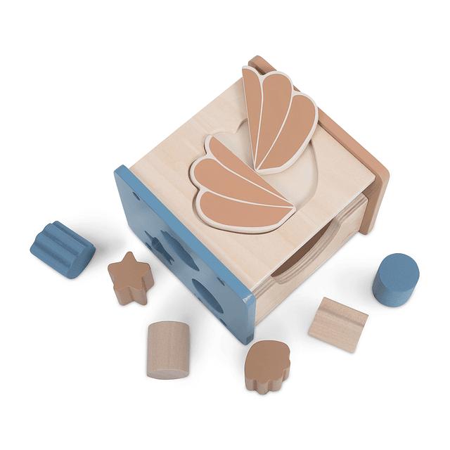Clasificador de formas - Concha - Azul