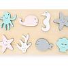 Rompecabezas de madera - Criaturas marinas