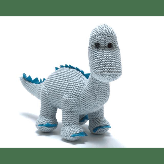 Sonajero Dinosaurio Celeste