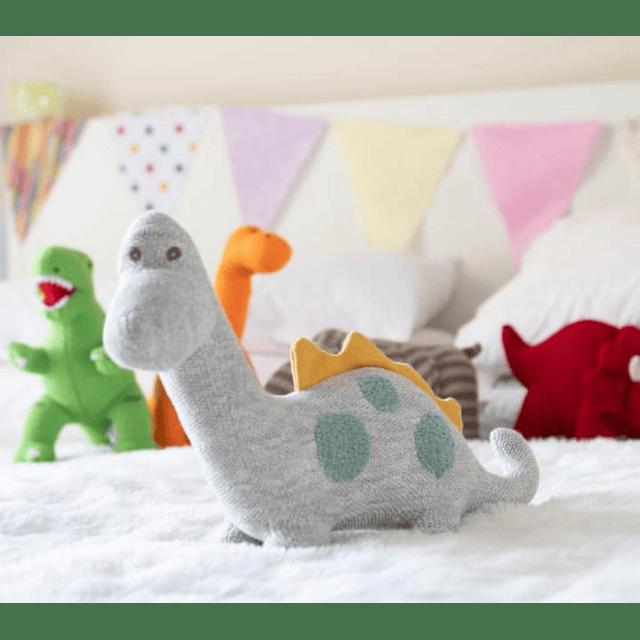 Dinosaurio Diplo Grande - Algodón Orgánico