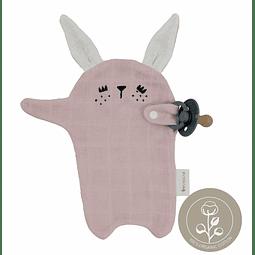 Conejo Portachupetes - Rosa