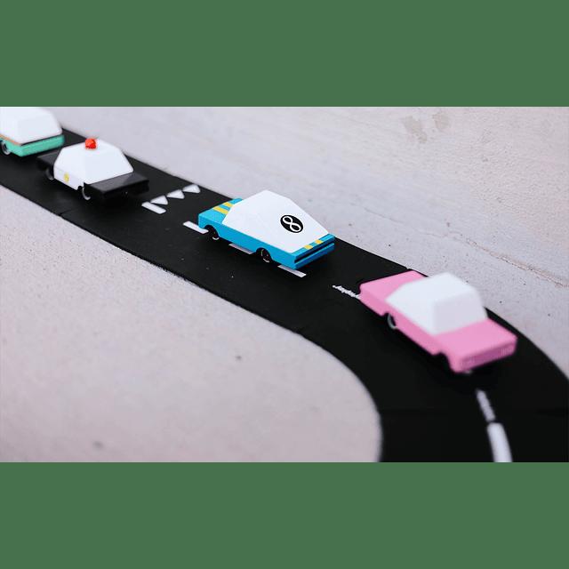 Auto Blue Racer - 9 cm