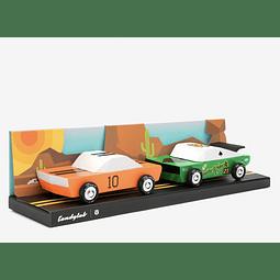Pack de Autos Desert Race - 12 cm