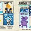 Periódico Sensorial - Unicorn ABC