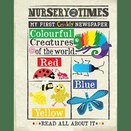 Periódico Sensorial - Colorful Creatures