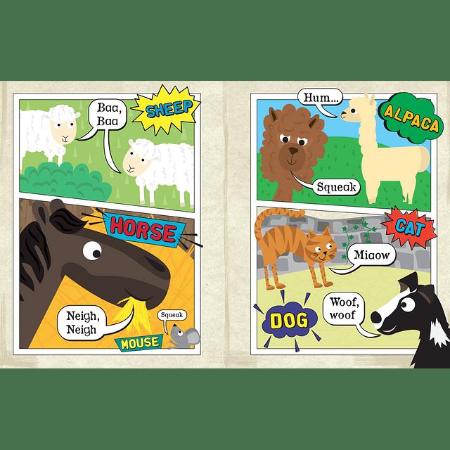 Periódico Sensorial - Comic