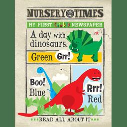 Periódico Sensorial - Dinosaurs