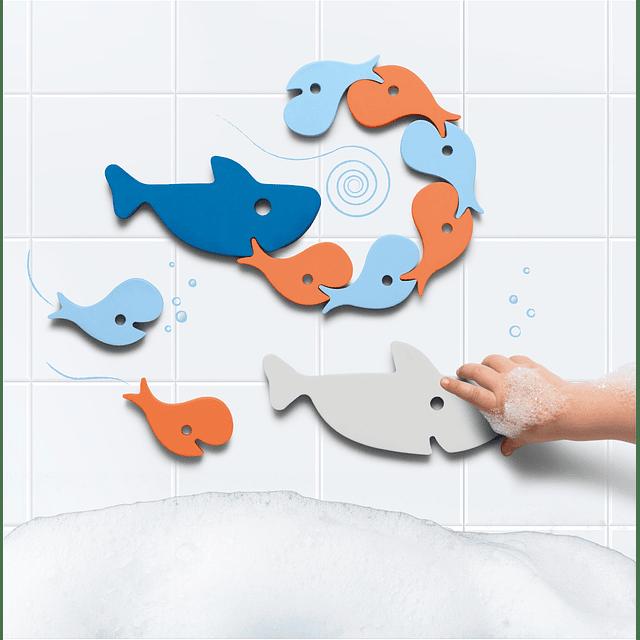 Puzzle Para Baño Sharks