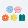 Puzzle Para Baño Flower Power