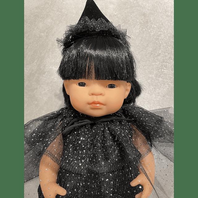Disfraz de Bruja para Muñeca
