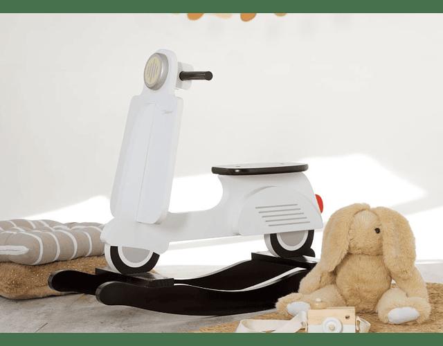Balancín Motocicleta - Blanco