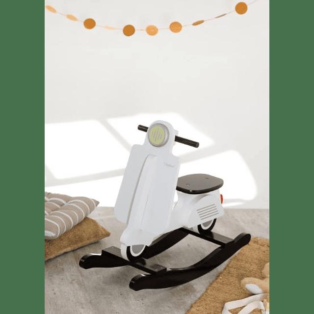 Balancín Motocicleta - Blanco (Vespa)