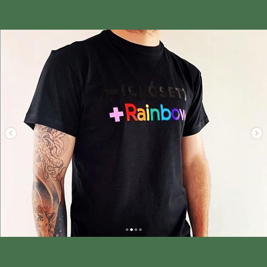 Camisa Oficial Pride - Rainbow