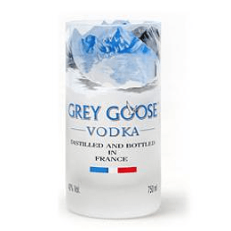 Vaso de Vodka Grey Goose