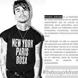 Camisa Oficial The Bosayork Dream