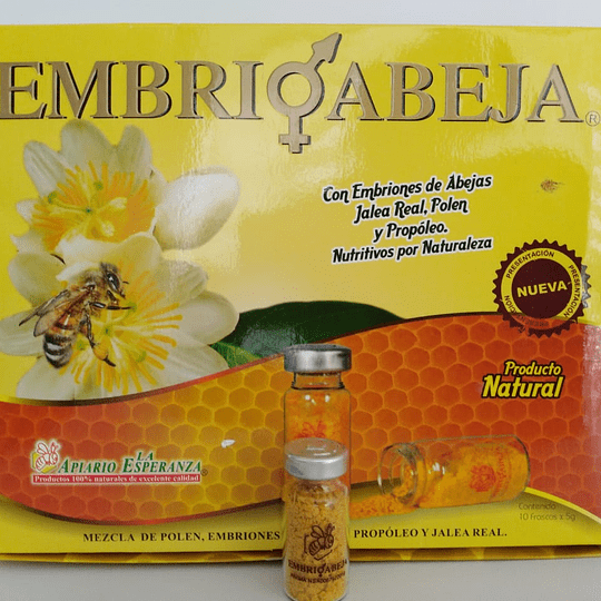 Embrioabeja -    Alimento - Regenerador celular