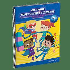 Súper Matemáticos Nº1 - Caligrafix