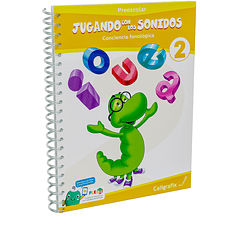 Cuaderno Interactivo - Jugando con los Sonidos 2