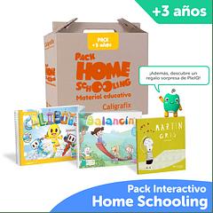 Pack Homeschooling Caligrafix + PleIQ 3 años