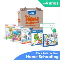 Super Pack Homeschooling Caligrafix + PleIQ 4 años