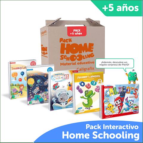 Super Pack Homeschooling Caligrafix + PleIQ 5 años