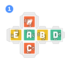 PleIQ Digital (8 cubos) – Para imprimir e montar