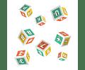 PleIQ Paper - 8 Cubos de papel (cartulina)