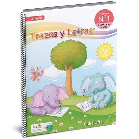 Cuaderno Interactivo - Trazos y Letras Nro. 1