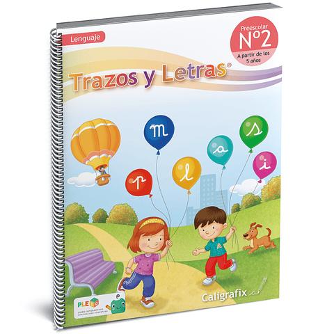 Cuaderno Interactivo - Trazos y Letras Nro. 2 Caligrafix