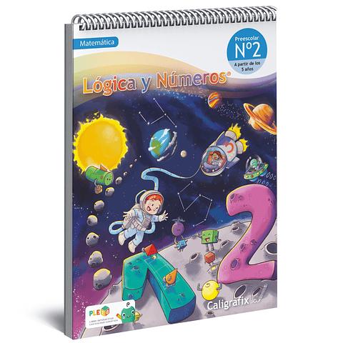 Cuaderno Interactivo - Lógica y Números Nro. 2  Caligrafix