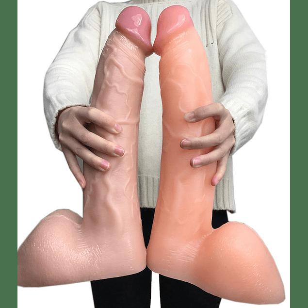 Dildo Gigante de 34 cm  de largo (Por encargo)