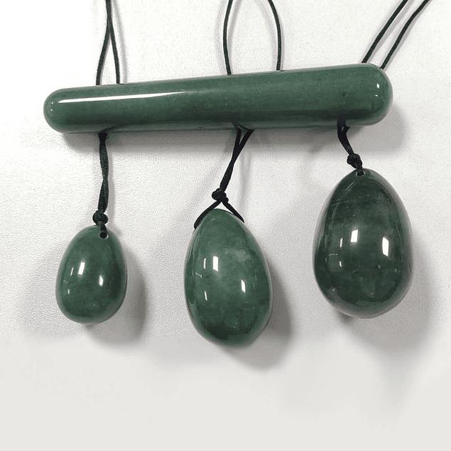 Bolas de piedra para kegels (Por Encargo)