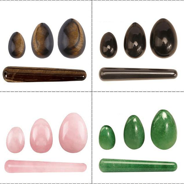 Bolas de piedra para kegels