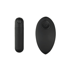 Vibrador inalámbrico tipo bala resistente al agua (Entrega Inmediata)