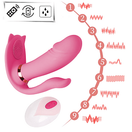 Wireless Cutecat Vibrating Dildo (Immediate Delivery)