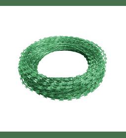 Concertina Acero Recubiertas en PVC 500 mm