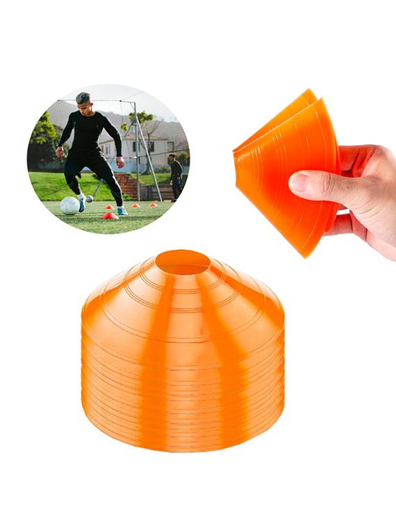 Platillos Flexibles PVC x10 unds