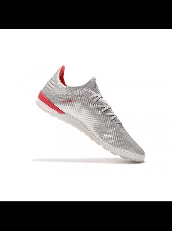 Adidas X 19.1 TF AAA Plateado/Rojo