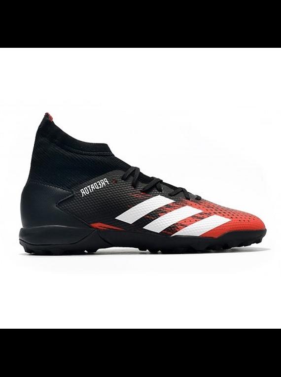 Adidas Predator 20.3 TF Negra/Roja