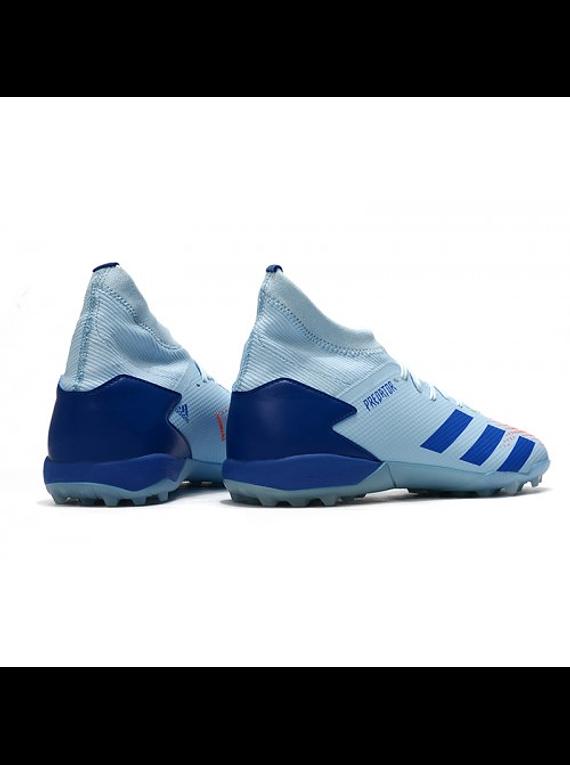 Adidas Predator 20.3 TF Azul/Gris