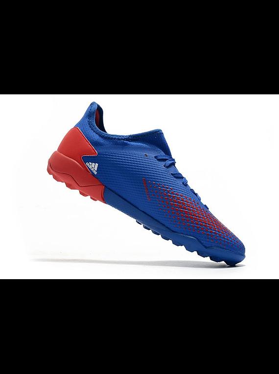 Adidas Predator 20.3 Low TF Azul/Roja