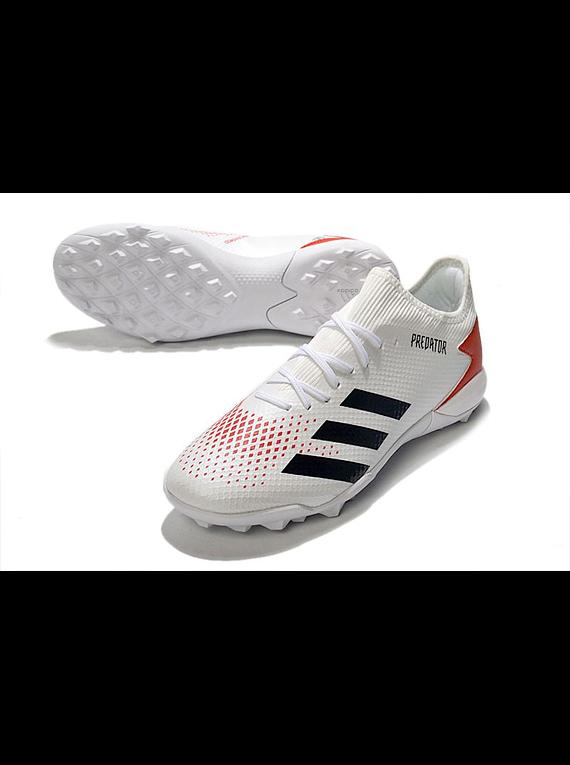 Adidas Predator 20.3 Low TF Blanca/Roja