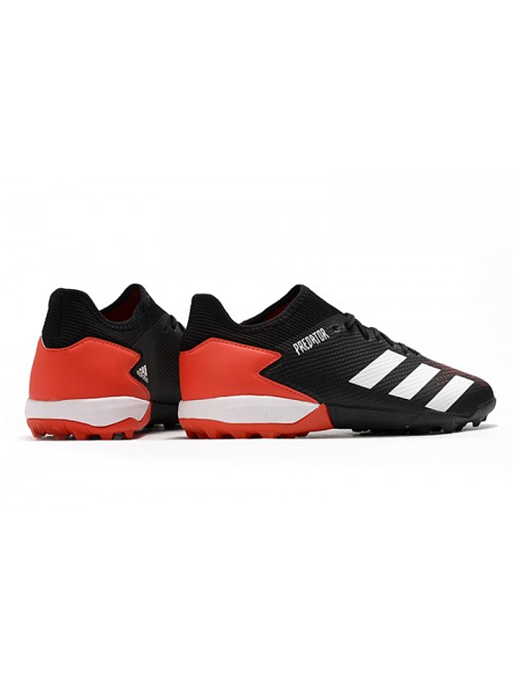 Adidas Predator 20.3 Low TF Negra/Roja